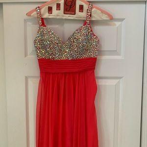La Femme Prom Gown
